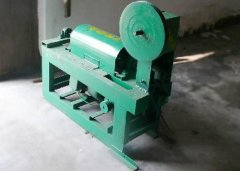 Steel wire straigtening and cutting machine