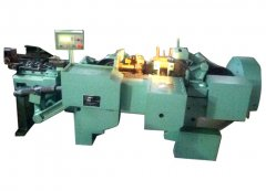 Industrial steel chain making machine